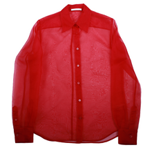 Load image into Gallery viewer, Helmut Lang Sheer Button-Up Shirt
