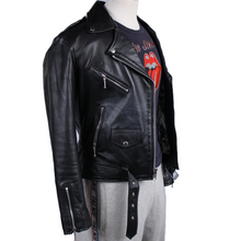 Load image into Gallery viewer, Straight to Hell Leather Jacket