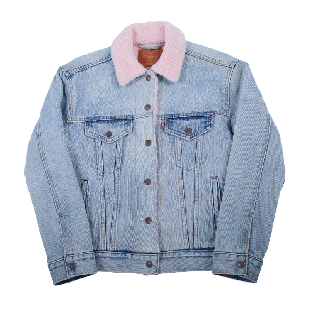 Levi's Faux Shearling Denim Jacket