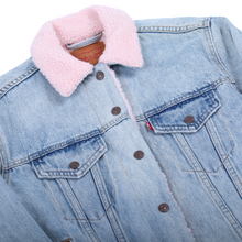 Load image into Gallery viewer, Levi's Faux Shearling Denim Jacket