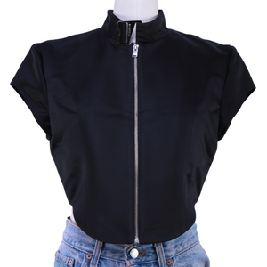 MISBHV Hook Neck Zip Up Top