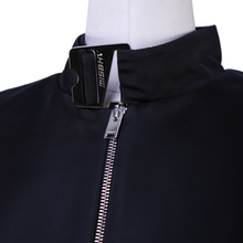 Load image into Gallery viewer, MISBHV Hook Neck Zip Up Top
