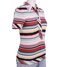 Load image into Gallery viewer, Vintage Missoni Woven Stripe Polo