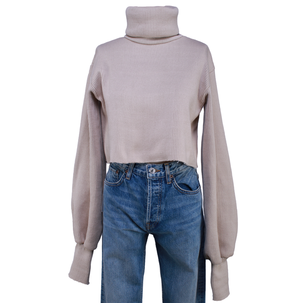 Orseund Iris Chunky Knit Turtleneck Sweater