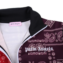 Load image into Gallery viewer, Palm Angels Bandana Track Jacket