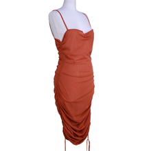 Load image into Gallery viewer, PRISCAVera Ruched Mesh Dress
