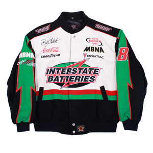 Vintage Interstate Batteries Racing Jacket