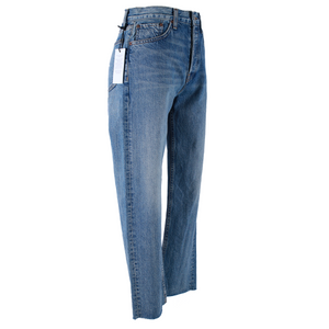 RE/DONE High-Rise Stove Pipe Jeans