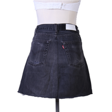 Load image into Gallery viewer, Re/Done Denim Mini Skirt