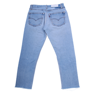 RE/DONE Mid-Rise Stove Pipe Jeans