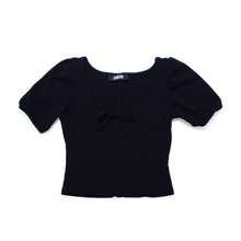 Load image into Gallery viewer, Reformation Jeans Sicily Top - Black