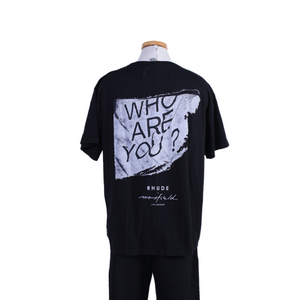 RHUDE x Maxfield Who Are You Tee