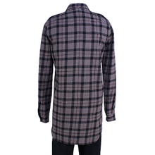 Load image into Gallery viewer, Rick Owens Mastodon Field Flannel Shirt