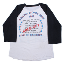 Load image into Gallery viewer, Vintage The Rolling Stones Raglan Tee