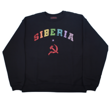Load image into Gallery viewer, Siberia Hills Siberia Blood Sweatshirt - Black