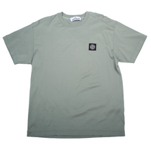 Load image into Gallery viewer, Stone Island Patch Logo Tee - Olive Green