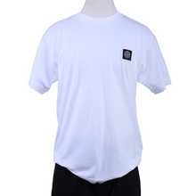 Load image into Gallery viewer, Stone Island Patch Logo Tee - White