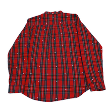 Load image into Gallery viewer, Stussy Tartan Crown Shirt