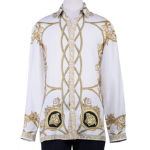 Load image into Gallery viewer, Versace Baroque Button-Up Shirt