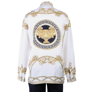 Versace Baroque Button-Up Shirt