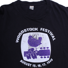 Load image into Gallery viewer, Vintage Woodstock Festival Tee
