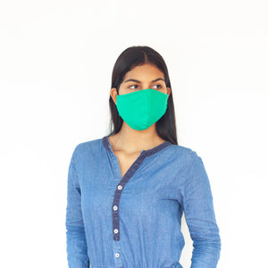 Pack of 10 - VSFM™ Unisex Soft Cotton 3D Mask