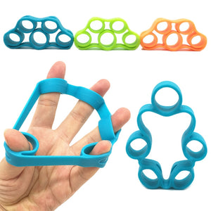 Finger Gripper Strength Trainer Resistance Bands