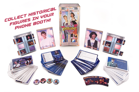 Bill & Ted's Excellent Historical Trivia Travel Game