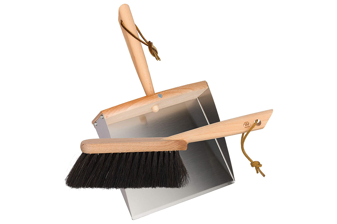 Dust Pan + Hand Brush Set