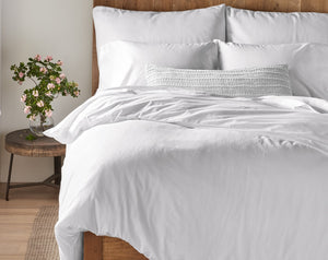 Sateen Sheet Set White