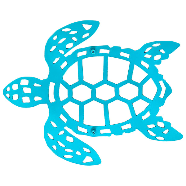 Sea Turtle Wall Decor metal Nautical Bathroom Decor Beach House Turtles Gift