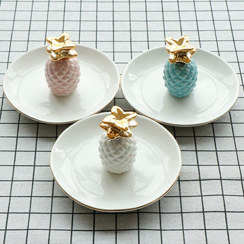 Home Decoration Plate Ring Jewelry - Home Office Decors