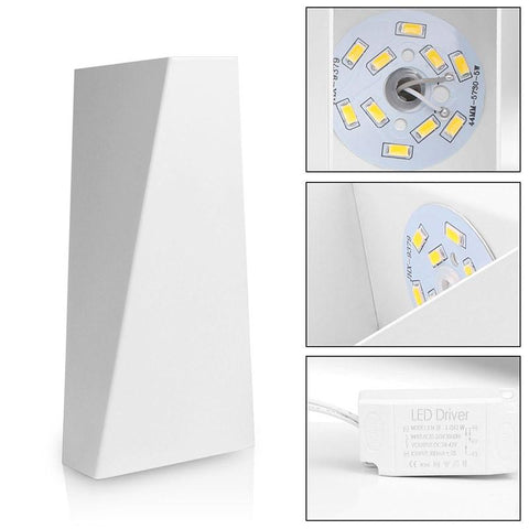 10W Mordern Led Wall Light Dual-Head - Home Office Decors