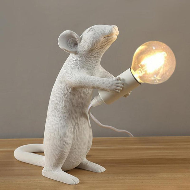 White Mouse LED Night Lamp Decorative - Home Office Decors