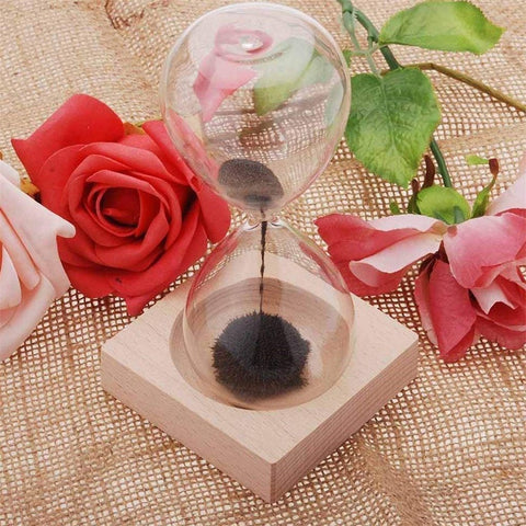 Flowering Magnetic Hourglass - Home Office Decors