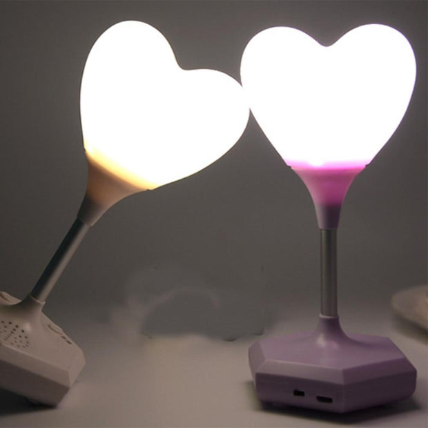 Heart Shape LED Night Light Touch - Home Office Decors