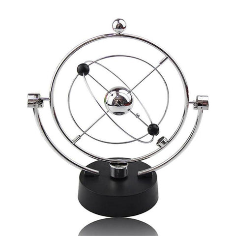 Electric Newtons Cradle Steel Balance Ball - Home Office Decors