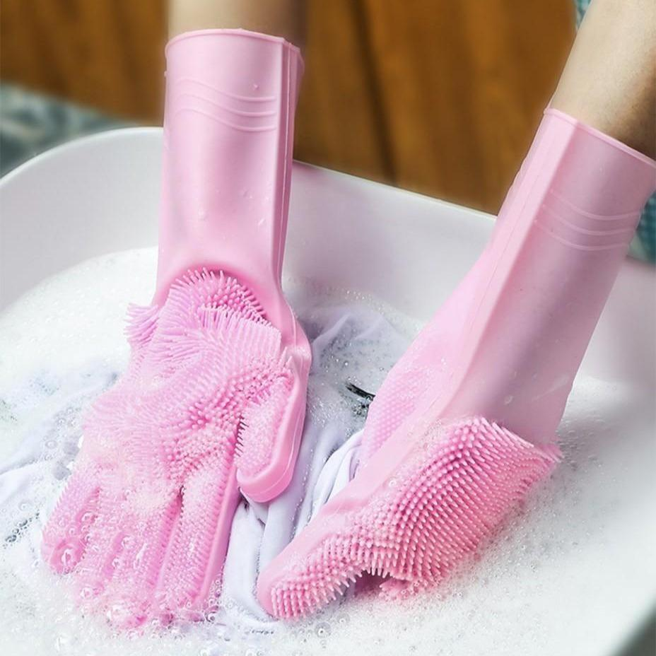 Easyclean Multipurpose Silicon Gloves