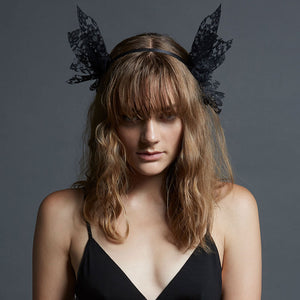 Echo Headband in Black