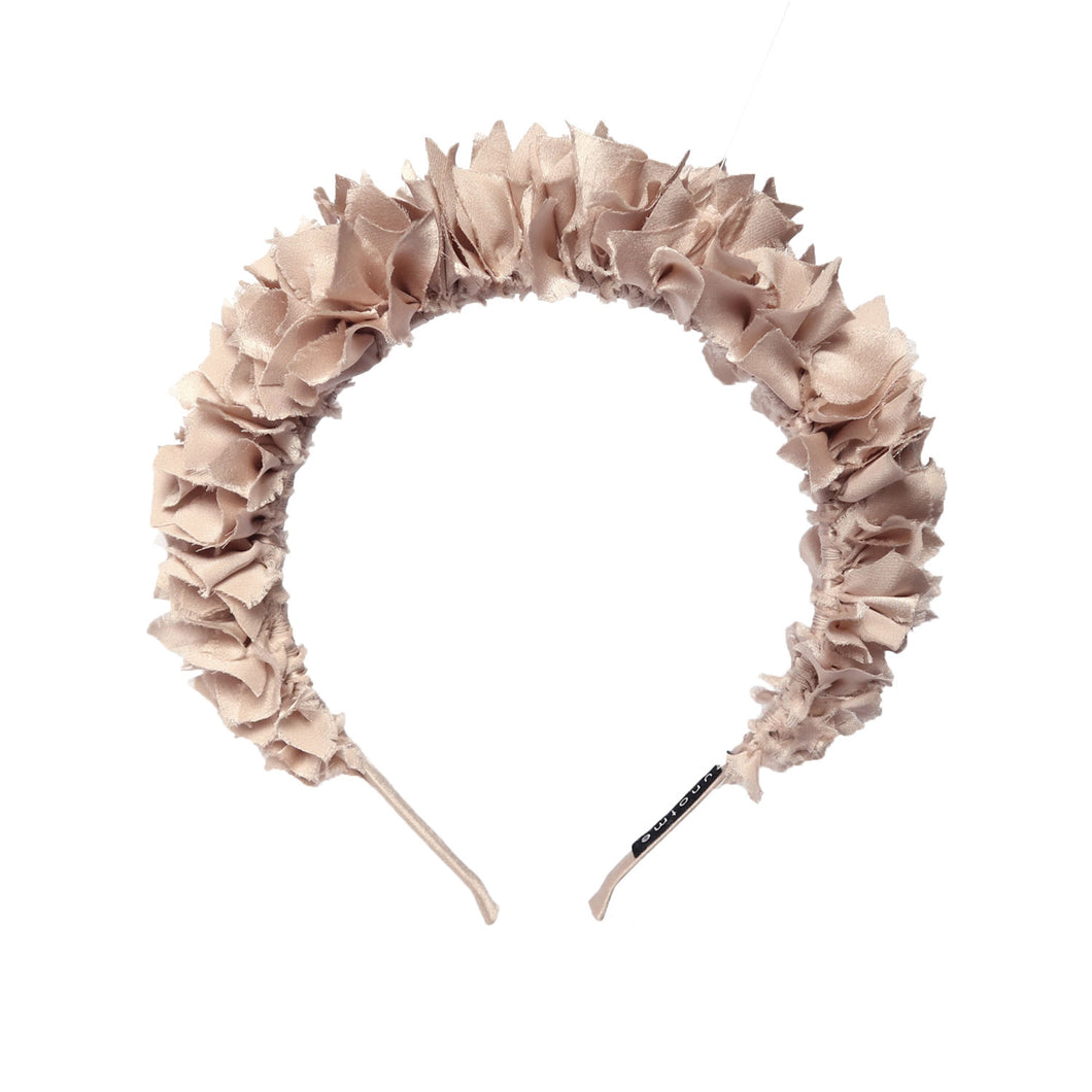 Flock Headband in Glacial Blush