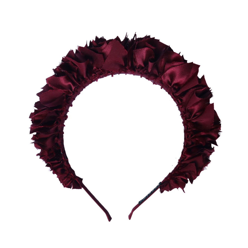 Flock Headband in Merlot