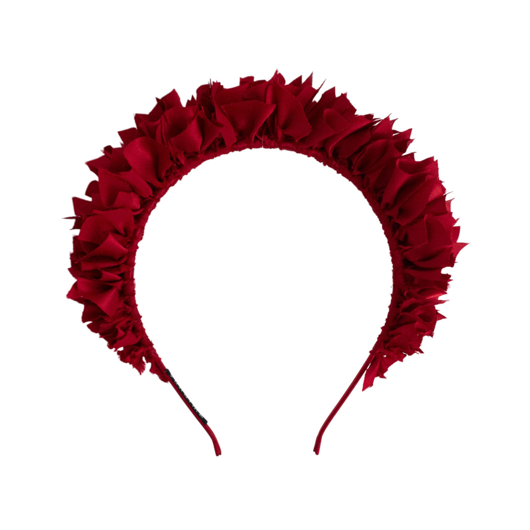Flock Headband in Ruby Red