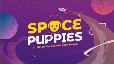 Space Puppies - a card game