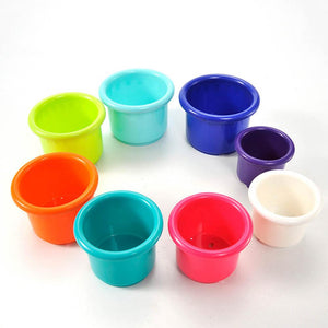 Nesting, Sorting, Stacking Cups
