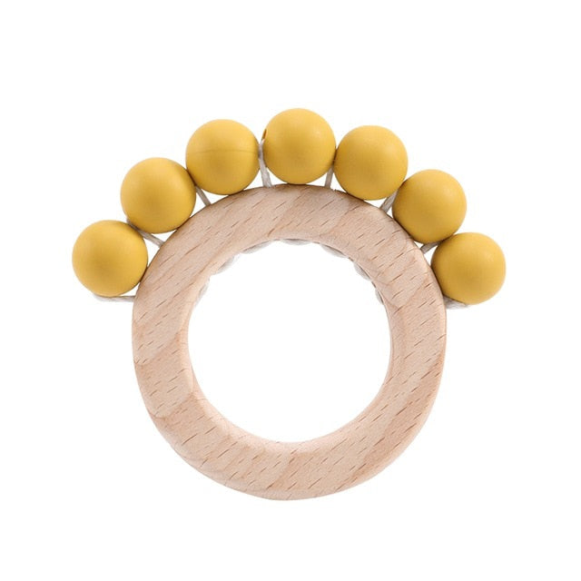 Baby Teether Beech Wood Rings