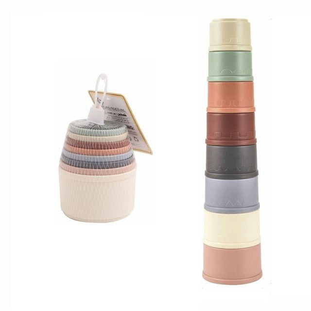 Wheat Straw Stacking Cups