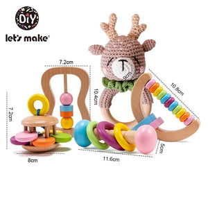 Colorful Rattle and Teethers