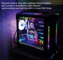 Load image into Gallery viewer, Corsair RGB Lighting Channel Splitter