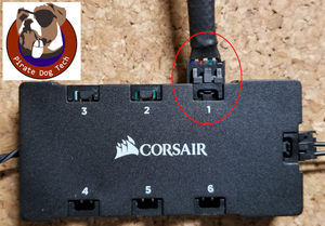 Corsair RGB Fan Extension - Sleeved (12 in., 16 in., 20 in)