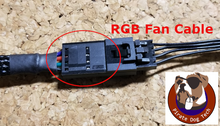 Load image into Gallery viewer, Corsair RGB Fan Extension - Sleeved (12 in., 16 in., 20 in)